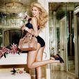 Kate Upton pour la lingerie et les accessoires printemps/été 2011 de chez Guess.