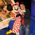 Alex Goude lors du Festival des moments magiques de Disney au Disneyland Resort Paris à Marne-La-Vallée le 2 avril 2011