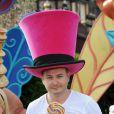 Cauet lors du Festival des moments magiques de Disney au Disneyland Resort Paris à Marne-La-Vallée le 2 avril 2011