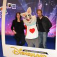 Géraldine Pailhas et Christopher Thompson lors du Festival des moments magiques de Disney au Disneyland Resort Paris à Marne-La-Vallée le 2 avril 2011