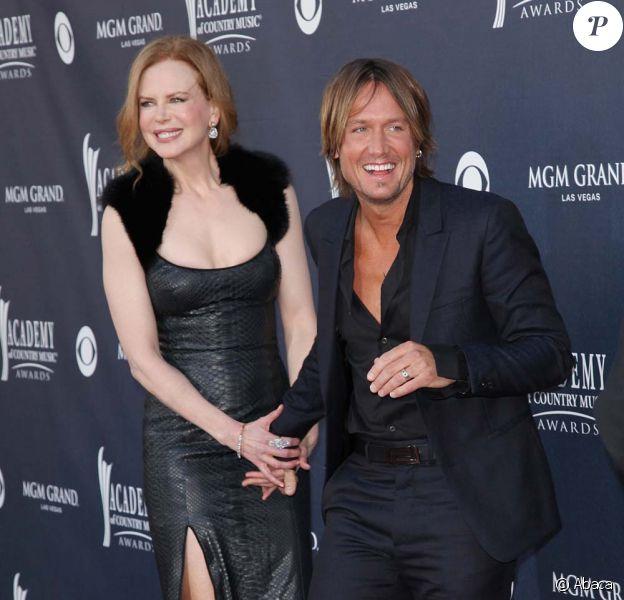 Nicole Kidman et Keith Urban, cérémonie des ACM Awards, à Las Vegas, le 3 avril 2011.