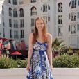 Isolda Dychauk présente la série européenne Borgia au MIPTV 2011, bientôt diffusée sur Canal + (5 avril 2011 à Cannes)