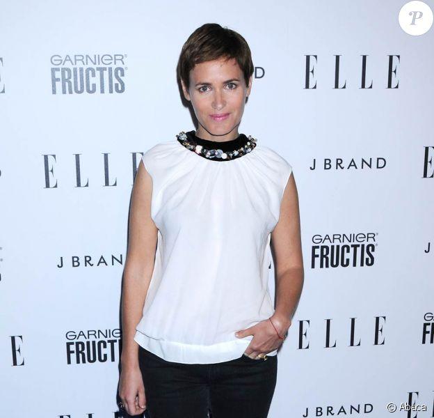 Judith Godrèche lors de la soirée Elle Music à Los Angeles le 11 avril 2011