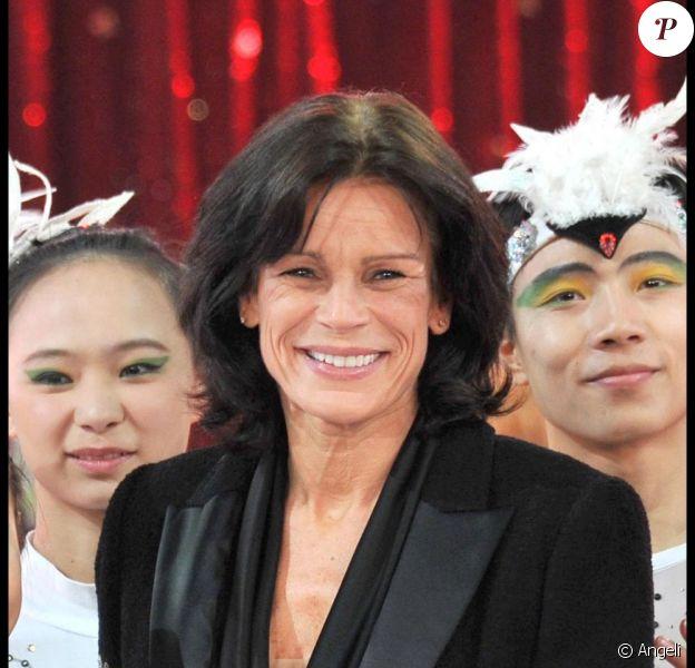 Stéphanie de Monaco au festival du cirque, en janvier 2011.
