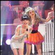 La chanteuse Lio enregistre l'émission  Les Années Bonheur , pour une diffusion le samedi 25 juin, à 20h45 sur France 2.