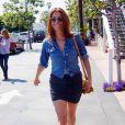 Kate Walsh aurait-elle fait commis une faute de goût avec sa jupe moulante à froufrous ?