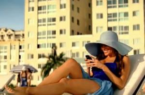 Sofia Vergara bulle sur la plage et joue les groupies face à David Beckham !