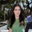 Megan Fox participe au Toyota Pro/Celebrity Race, à Los Angeles, le samedi 16 avril.