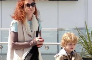 Debra Messing : Son fils est un soutien de taille en vue de son grand retour...