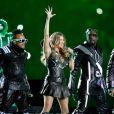 Les Black Eyed Peas lors du Super Bowl en février 2011