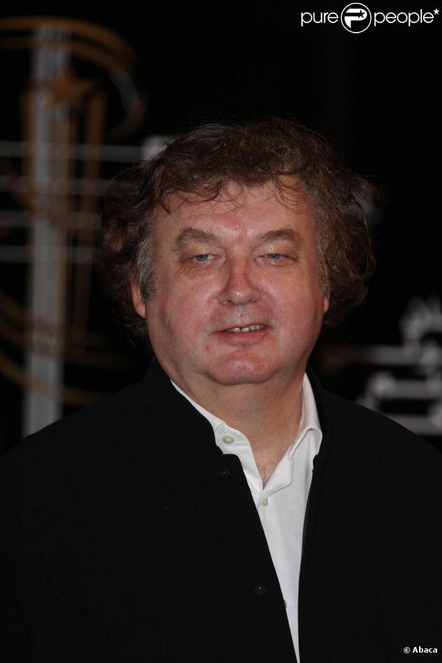 Dominique Besnehard lors du 9e Festival de Marrakech, en décembre 2009.