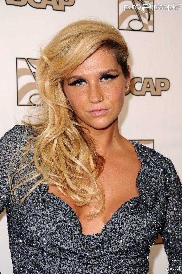 Kesha à la 28e édition des ASCAP Pop Music Awards, à Los Angeles. 27 avril 2011