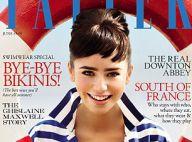 Lily Collins : La fille de Phil Collins métamorphosée en Audrey Hepburn !