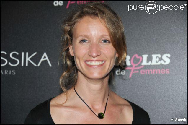 Alexandra Lamy lors de la soirée au showroom Messika à Paris le 28 avril 2011