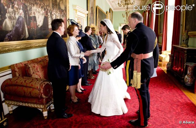 Mariage De William Et Catherine A Buckingham Une