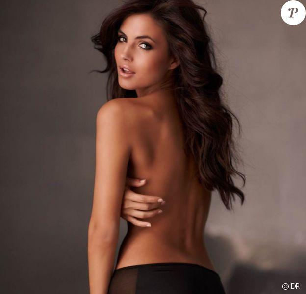 Le magnifique mannequin espagnol Diana Morales pour la marque de lingerie Frederick's of Hollywood.