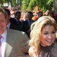 Maxima et Willem-Alexander des Pays-Bas lors du Koninginnedag, le 30 avril 2011, aux Pays-Bas.