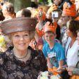 La reine Beatrix lors du Koninginnedag, le 30 avril 2011, aux Pays-Bas.