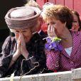 La reine Beatrix et sa soeur Margriet lors du Koninginnedag, le 30 avril 2011, aux Pays-Bas.