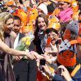 Princesse Maxima lors du Koninginnedag, le 30 avril 2011, aux Pays-Bas.