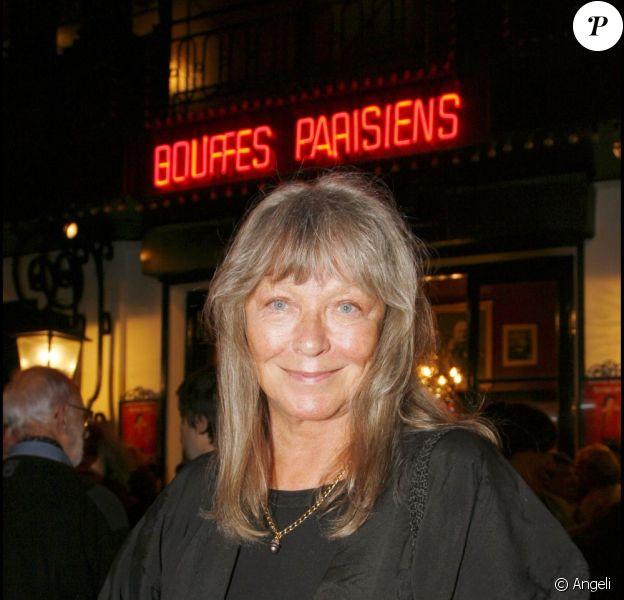 Marina Vlady, à Paris, le 10 septembre 2007