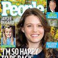Jaycee Dugard en couverture de  People , octobre 2009
