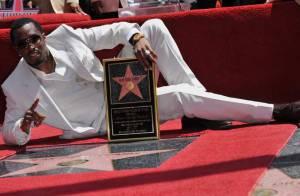 PHOTOS : P. Diddy, des étoiles plein les yeux sur le Walk of Fame !
