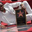 Beaucoup d'émotion sur Hollywood Boulevard pour l'étoile de P. Diddy