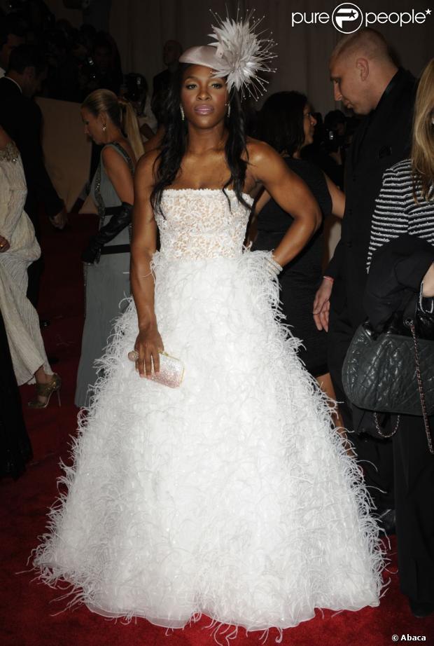 Serena williams alicia keys fashion faux pas pour la for Hors des robes de mariage rack new york