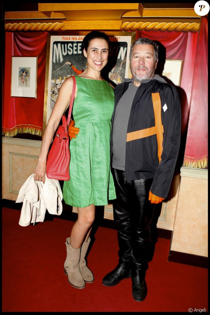philippe starck et son pouse jasmine en juin 2010. Black Bedroom Furniture Sets. Home Design Ideas