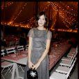 Alexa Chung lors du dîner en l'honneur de Karl Lagerfeld, à Antibes, le 8 mai 2011