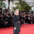Aimee Mullins sur le tapis rouge du 64e Festival de Cannes, le 11 mai 2011