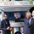 Le prince Charles lance l'Ocean Project, le 11 mai 2011, à Londres.