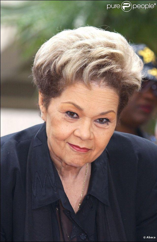 Etta James honorée sur le Walk of Fame à Hollywood, en 2003