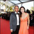 Caroline Barclay et son ami Marc à l'occasion de la présentation de  The Tree of Life  dans le cadre du 64e Festival de Cannes, le 16 mai 2011.