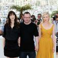 Lars Von Trier lors du photocall de Melancholia au festival de Cannes le 18 mai 2011
