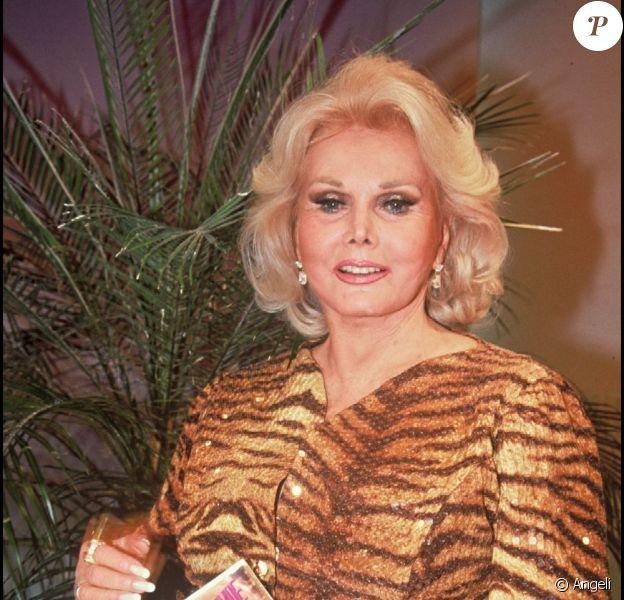 Zsa Zsa Gabor, en 1992.