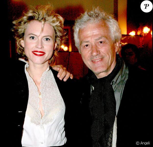 Mathilde Penin et Jean-Luc Moreau en mai 2007.