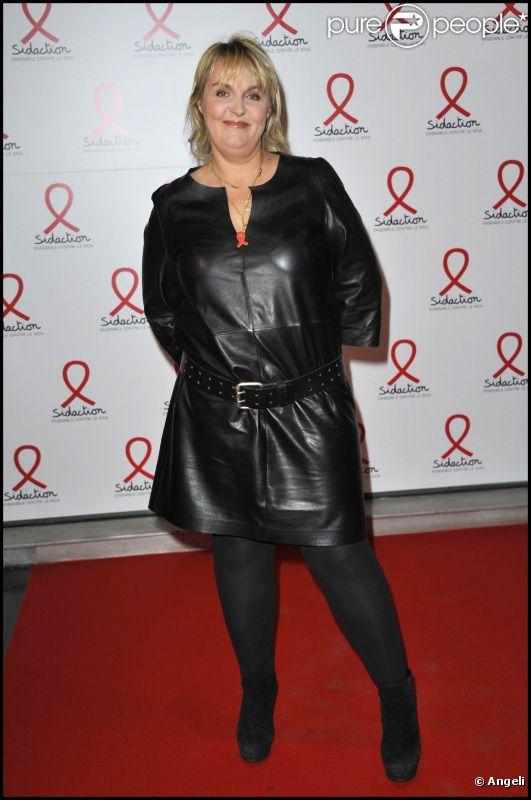 Valérie Damidot lors de la conférence de presse du lancement du Sidaction 2011 en mars 2011 à Paris