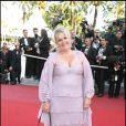 Valérie Damidot lors de la montée des marches d'Un Prophète lors du 62e Festival de Cannes en mai 2009