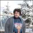 Mouloud Achour lors du 12e Festival de comédie de l'Alpe d'Huez en janvier 2009