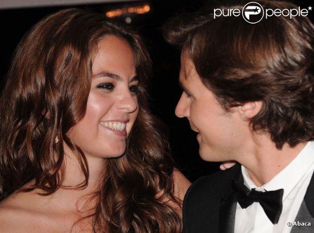 Anouchka Delon et Julien Dereins soirée Dior Elle le 20 mai 2011 à l'Eden Roc
