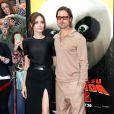 La divine Angelina Jolie et le séduisant Brad Pitt à l'occasion de l'avant-première de  Kung Fu Panda 2 , au Grauman's Chinese Theatre de Los Angeles, le 22 mai 2011.