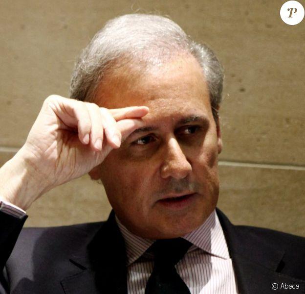 Georges Tron, à l'Assemblée Nationale, à Paris, en juillet 2010.