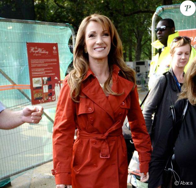 Jane Seymour, à Londres, le 28 avril 2011.