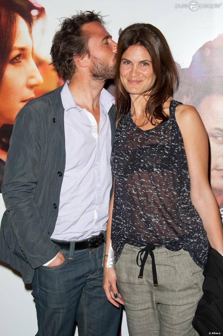 Alexandre brasseur et sa femme juliette l 39 occasion de l 39 avant premi re d 39 un baiser papillon - Alexandre jardin et sa femme ...