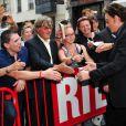 Johnny Hallyday en pleine forme lundi soir, 30 mai pendant son concert privé à RTL diffusé le 11 juin 2011