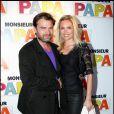 Clovis Cornillac et Lilou Fogli à l'occasion de l'avant-première de  Monsieur Papa , à Paris, le 31 mai 2011.