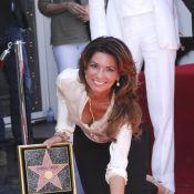 Shania Twain : Heureuse, amoureuse et très star, elle brille à Hollywood !