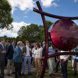 Le prince Frederik et la princesse Mary de Danemark inauguraient le 2 juin 2011 la seconde édition de l'exposition Sculpture en bord de mer, à Aarhus. Un parcours littoral artistique qui a rappelé à la princesse leur premier rendez-vous galant...